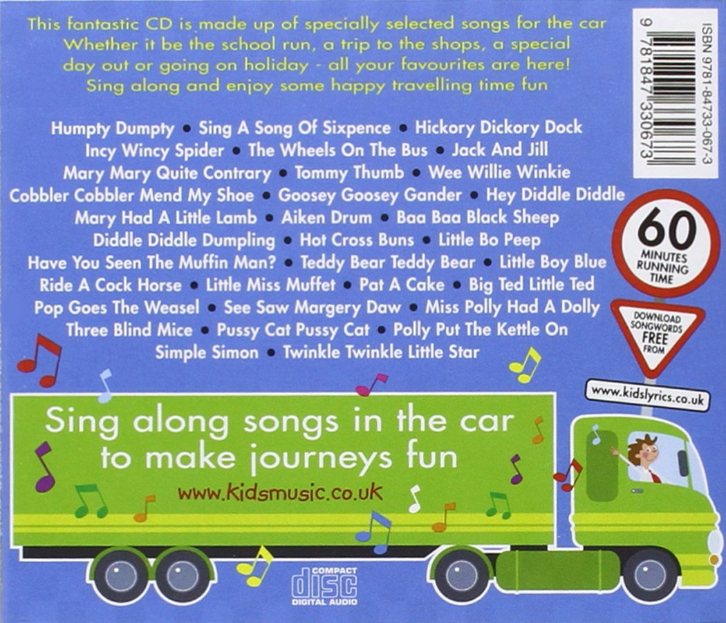Sing Along Songs in the Car - Nursery Rhymes: Amazon co uk
