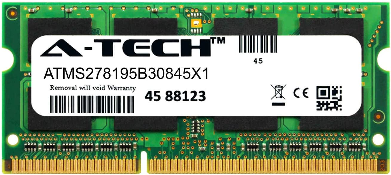 A-Tech 8GB Module for Dell Latitude E5530 Laptop & Notebook Compatible DDR3/DDR3L PC3-14900 1866Mhz Memory Ram (ATMS278195B30845X1)