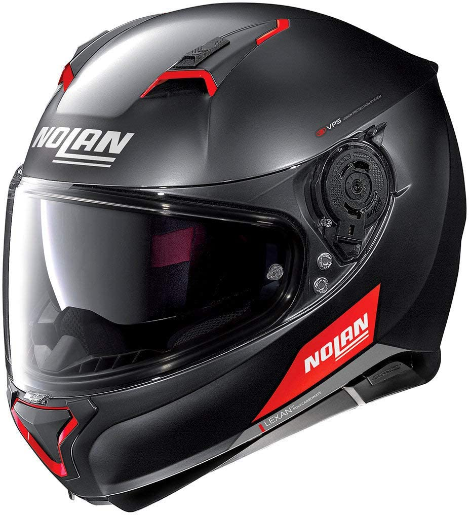 Nolan N87 Emblema N-COM Flat Black M