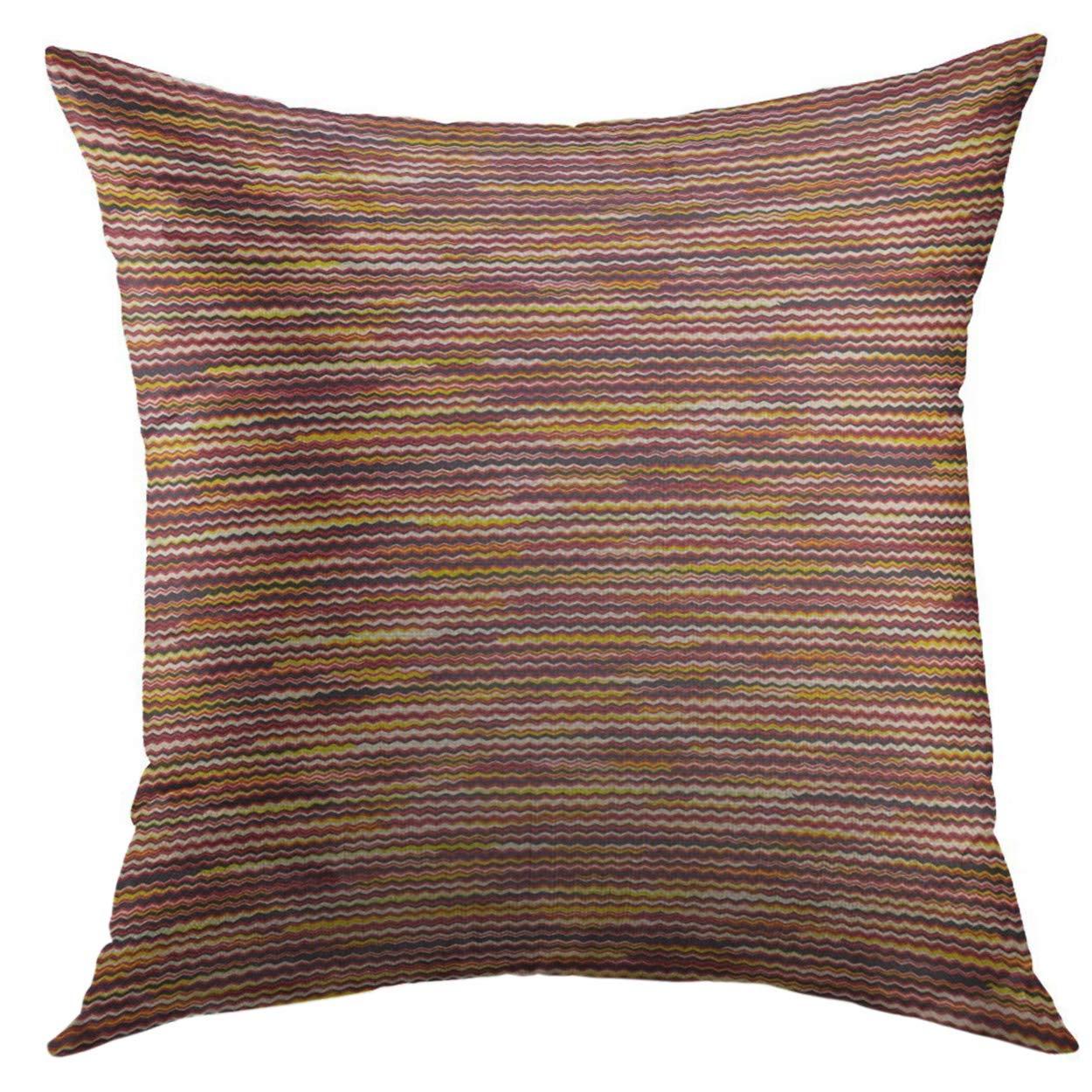 Mugod Funda de almohada decorativa de ganchillo bordado ...