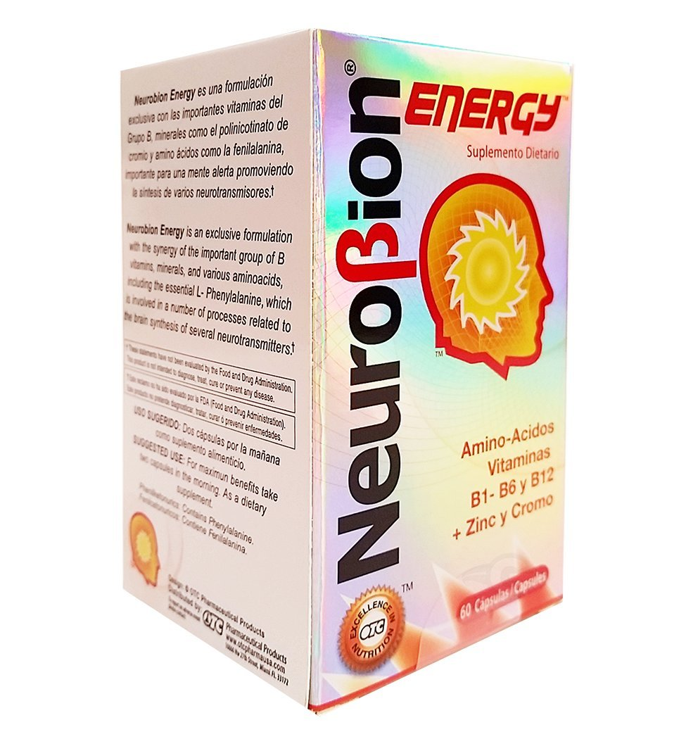Amazon.com: OTC Neurobion Energy Dietary Supplement 60 Tabs - Suplemento Multivitaminico (Pack of 1): Health & Personal Care