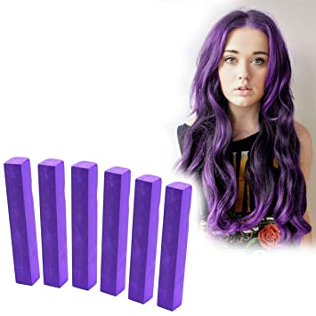 Vivid Purple Hair Dye Bright Purple Hair Color Imperial Purple Vibrant Hair Chalk With Shades Of