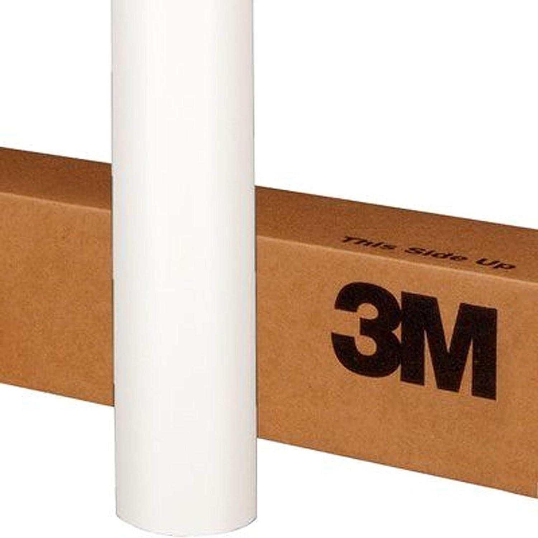 3M 1080 M10 MATTE WHITE 5ft x 1ft (5 Sq/ft) Car Wrap Vinyl Film
