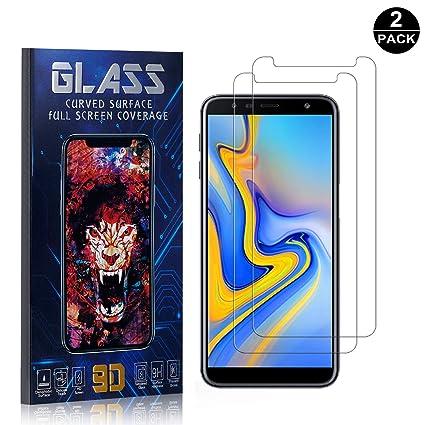 Bear Village® Protector de Pantalla Galaxy J6 Plus 2018, 9H Cristal Templado, Anti-Golpe, Transparente Protector de Pantalla para Samsung Galaxy J6 Plus 2018-2 Unidades: Amazon.es: Bebé