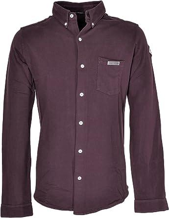 ROY ROGERS - Camisa Formal - para Hombre Burdeos Medium ...