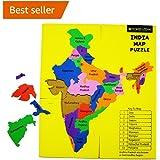 Beyond Logik India Map Foam Puzzle : Fun + Learn Educational Toy Return Gift