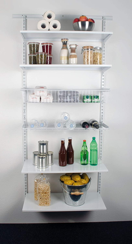 Storage Room 1016 x 1970 x 400 mm Element System Easy Regal-Set Wei/ß