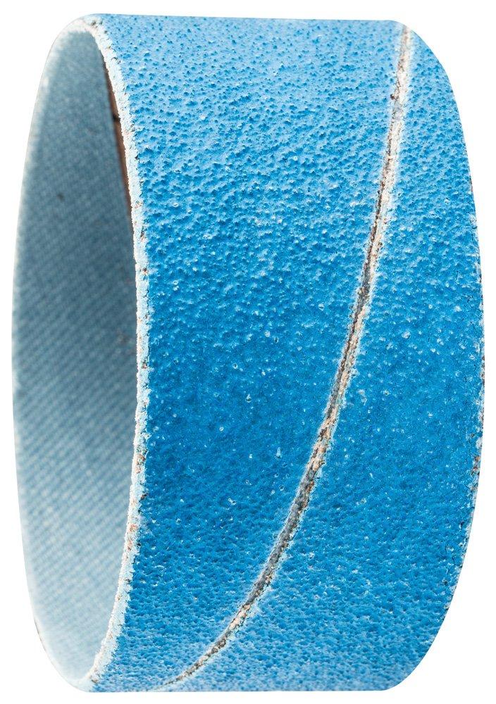 PFERD 41429 Cylindrical Type Abrasive Spiral Band, Zirconia Alumina Z-Cool, 2-3/8'' Diameter x 1-1/8'' Length, 80 Grit (Pack of 100)