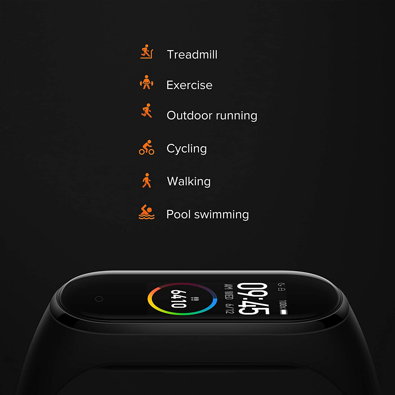 Mi Smart Band 4: Activity Tracking And Heart Rate Monitoring