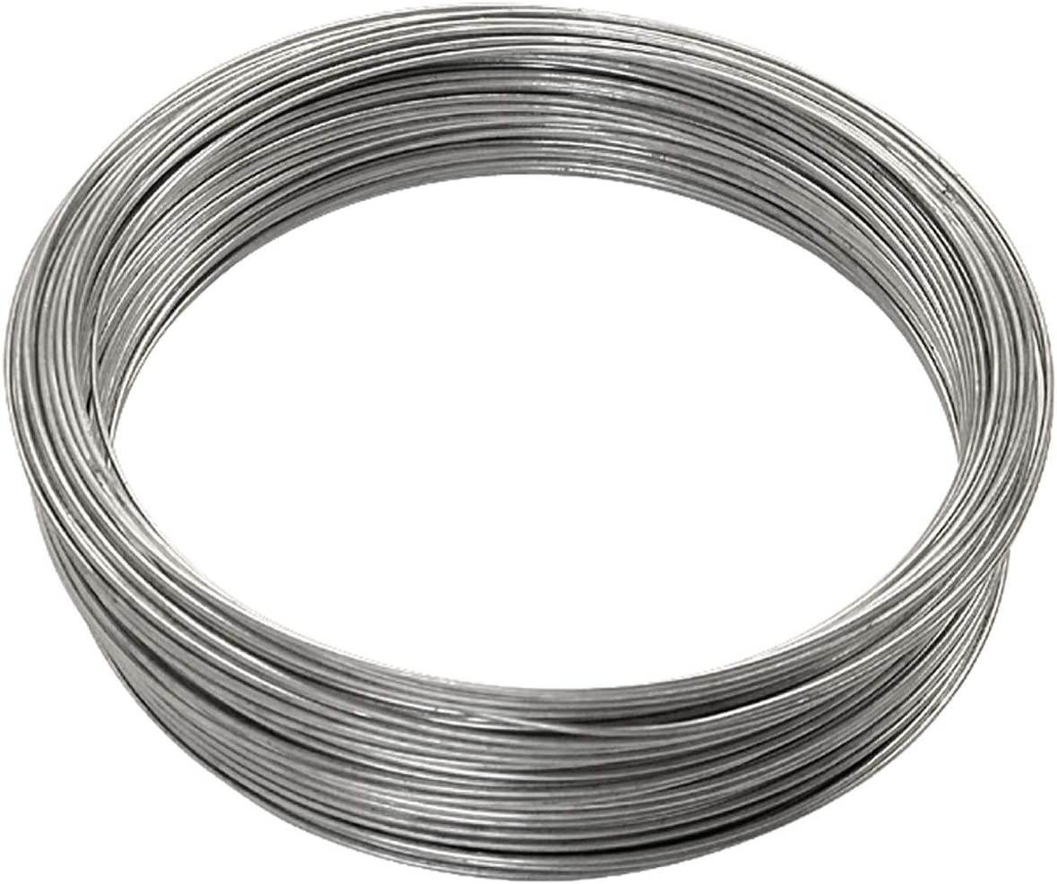 OOK 50143 16 Gauge 1 Pack 200 ft Galvanized Steel Wire