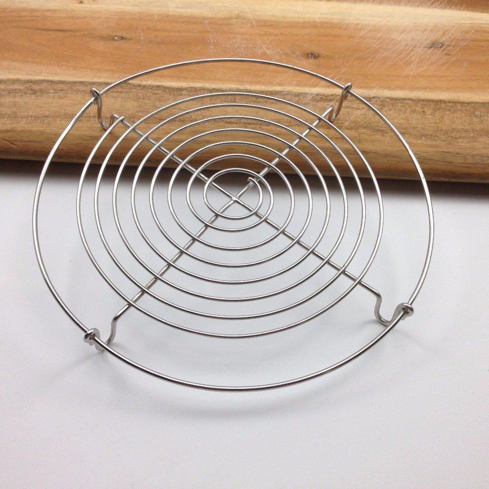 Vaporera eléctrica de alambre soporte fit para todas las ollas sartenes hasta 4L Cocina Fácil Cocinar al vapor verduras alimentos, Large 7 Inch: Amazon.es: ...