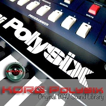Korg polysix - Huge Original Sound Library Samples in Wave/Kontakt formato on DVD oro for download: Amazon.es: Instrumentos musicales