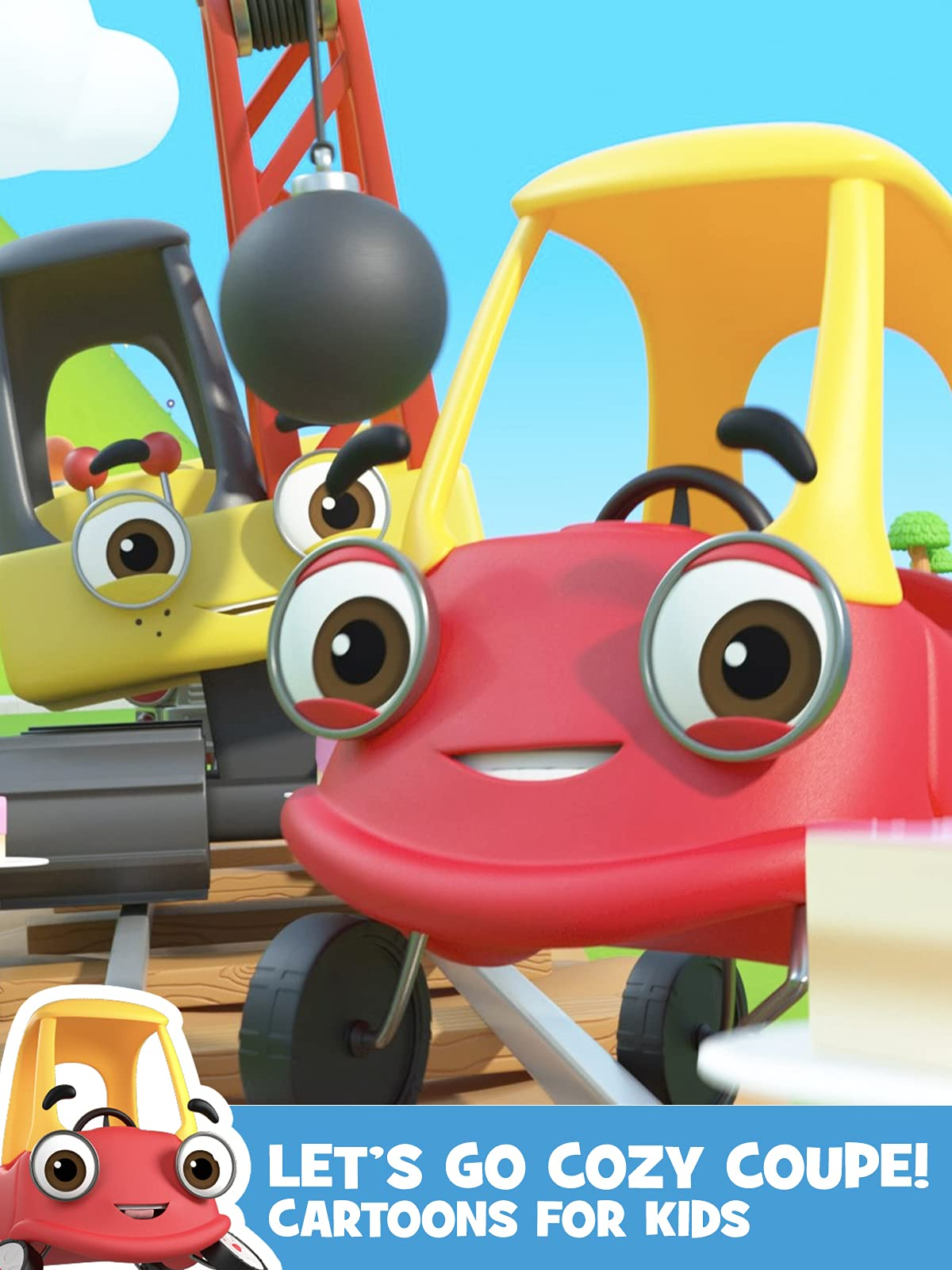 Let's Go Cozy Coupe! - Cartoons for Kids