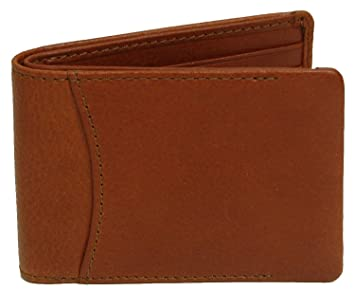 477c245e3761 Bosca Correspondent Collection Small Bifold Wallet Chestnut (One ...