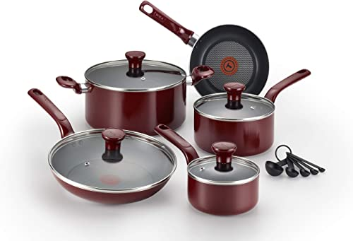 T-Fal C514SE Excite Nonstick Thermo-Spot Cookware Set