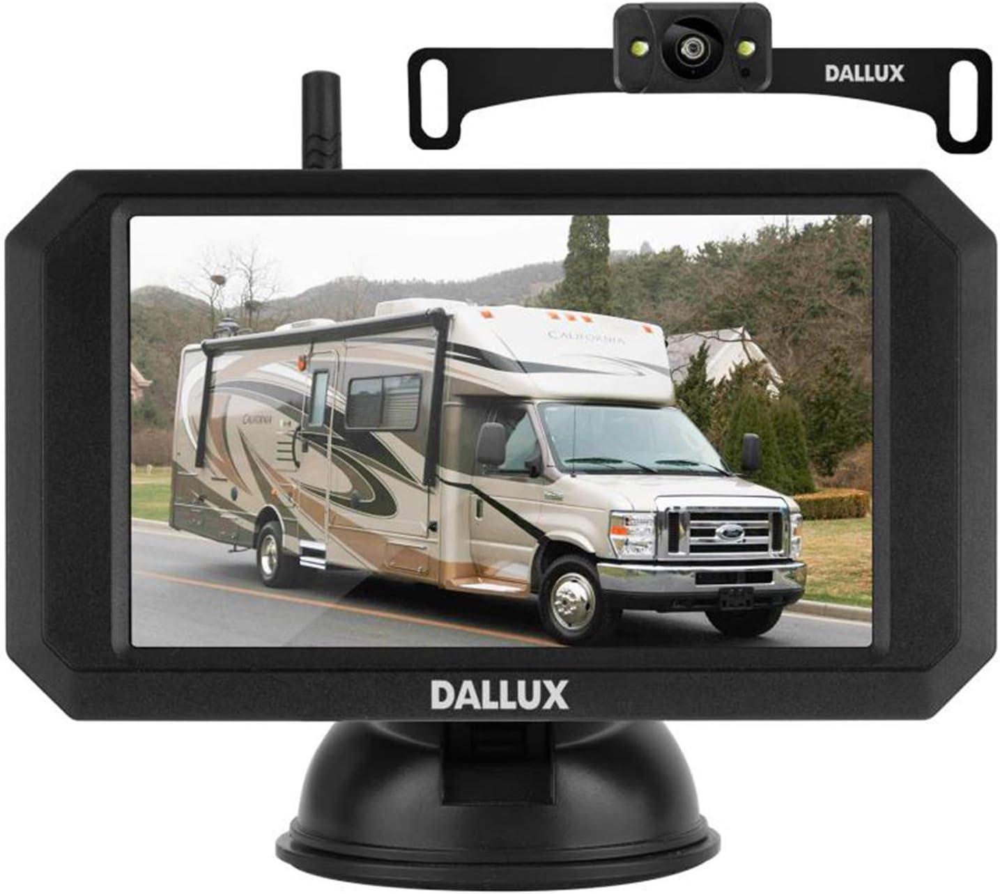 Dallux Wireless Backup Camera Reviews