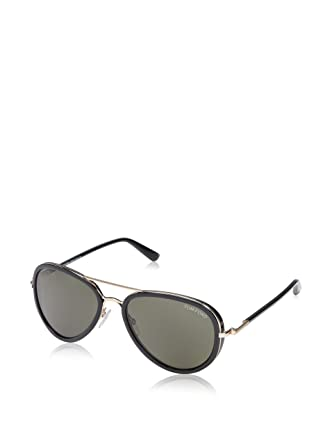 cba6cdc0ec185 Amazon.com  Tom Ford Aviator Sunglasses TF341 Miles 28J Gold Black ...