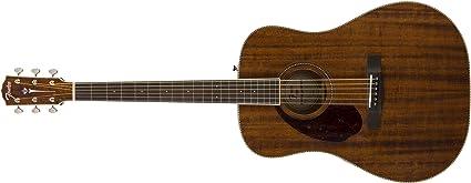 Fender Guitarra, caoba: Amazon.es: Instrumentos musicales
