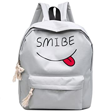 mochilas escolares juveniles niña Switchali Lona bolsas escolares moda Pijo Mochila escolares niño mochilas mujer casual Mochila bolsas deporte viaje ...