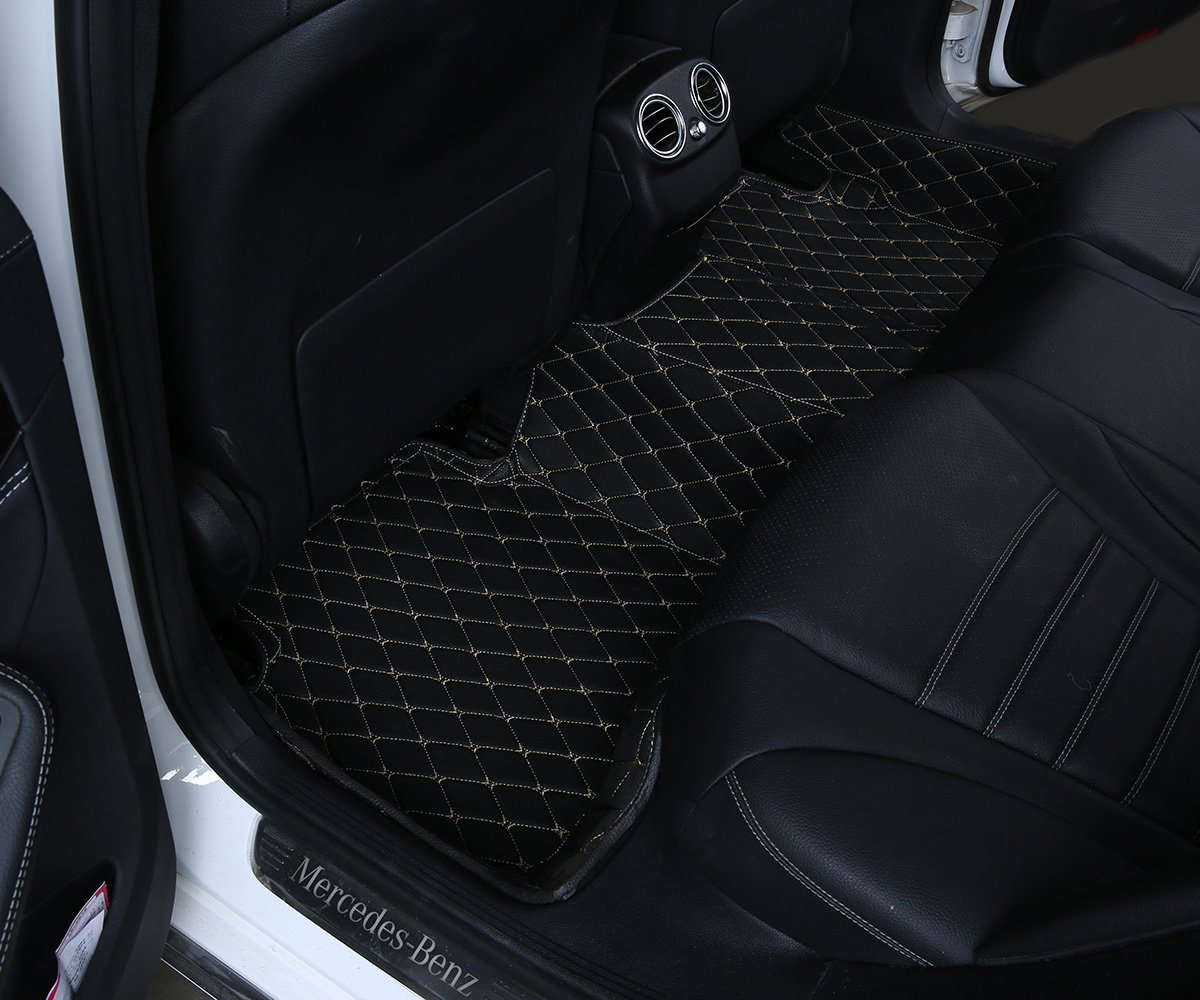 Floor mats qx80 - Amazon Com Worth Mats Custom Fit Luxury Xpe Leather Waterproof Floor Mat For Maserati Ghibli 2014 2016 Ghibli S Q4 Do Not Fit Black Automotive