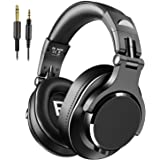 Bopmen Over Ear Headphones - Wired Studio Headphones with Shareport, Foldable Headsets with Stereo Bass Sound for Monitoring