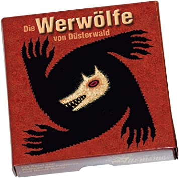 Asmodée Pro Ludo - Juego de Mesa Werwölfe Von Düsterwald (en alemán): Amazon.es: Juguetes y juegos