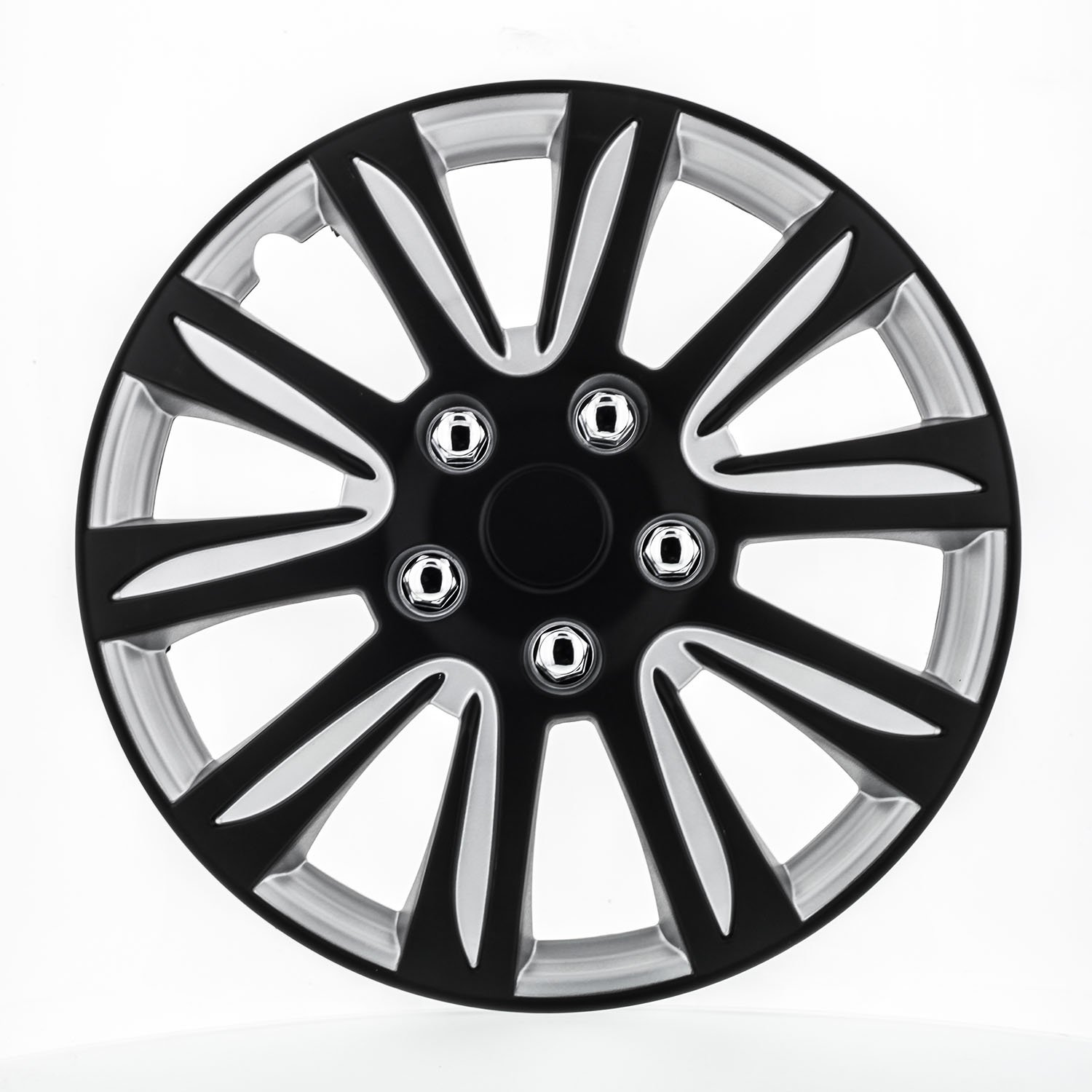 Pilot WH546-15B-BS Universal Fit Premier Toyota Camry Style Black 15 Inch Wheel Covers - Set of 4 Pilot Automotive