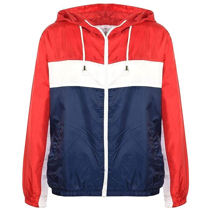 Amazon.com: Chaqueta con capucha roja para chicas y chicas ...