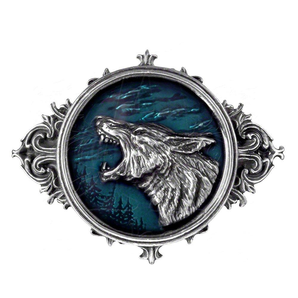 Wulven Belt Buckle B74 Metal-Wear Alchemy Gothic