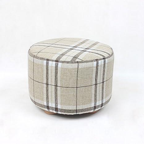 Small wooden stool Silla Plegables Taburete de Madera Maciza ...