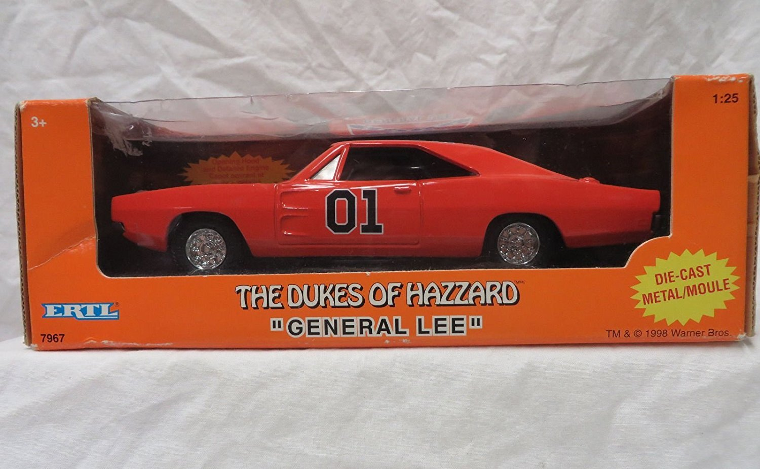 amazoncom general lee 1969 dodge charger the dukes of hazard toys games