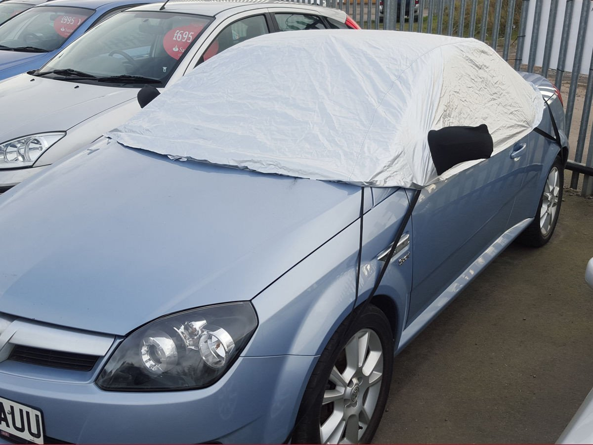 Half Size Vauxhall Tigra CC & Coupe 2005 on Car Cover Every Car Covered
