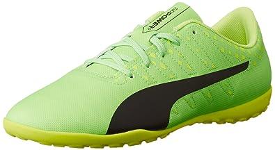 cheaper 6cc94 72854 PUMA Boys Trainers PU10397401 Green Black Yellow UK 1.5 US 3.5