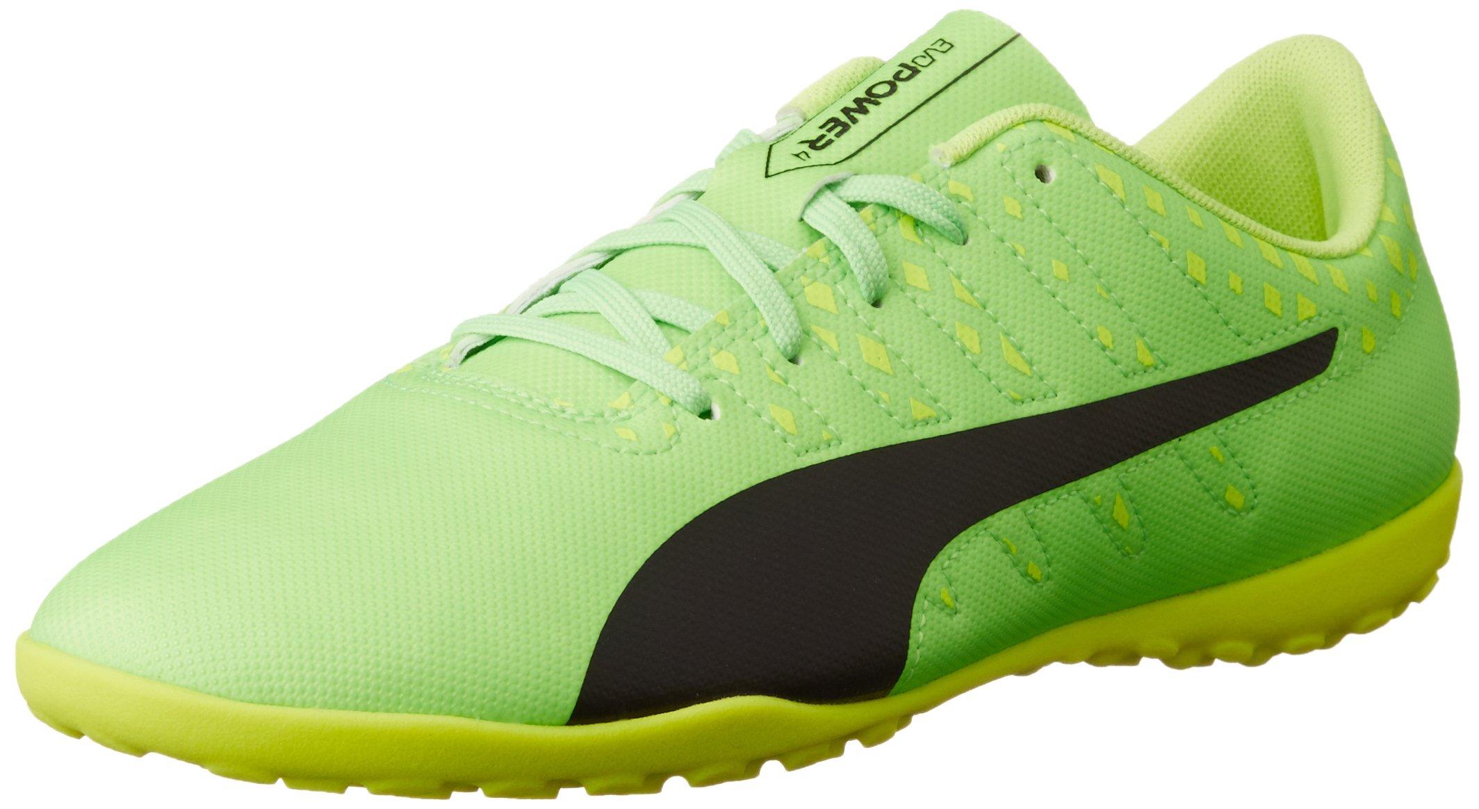 PUMA Boys Trainers PU10397401 Green/Black/Yellow UK 6/US 7