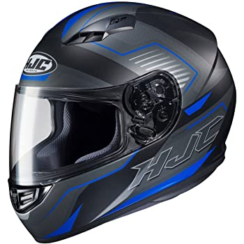 HJC Helmets Trion Mens CS-R3 Street Motorcycle Helmet - MC-2SF / Small