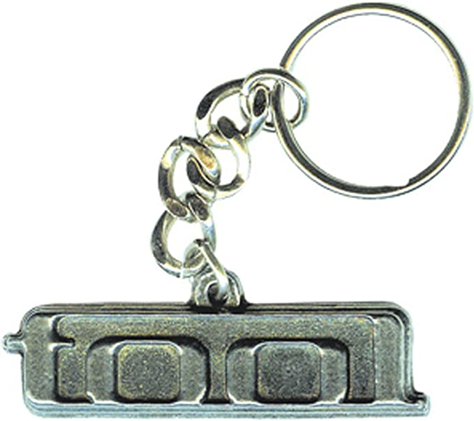 Amazon.com: C&D Visionary Licenses Products Tool Logo Metal Keychain: Toys & Games