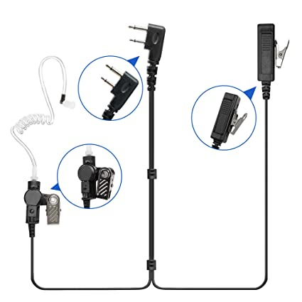 Amazon.com: Guanshan Surveillance Acoustic Tube Earphone ... on
