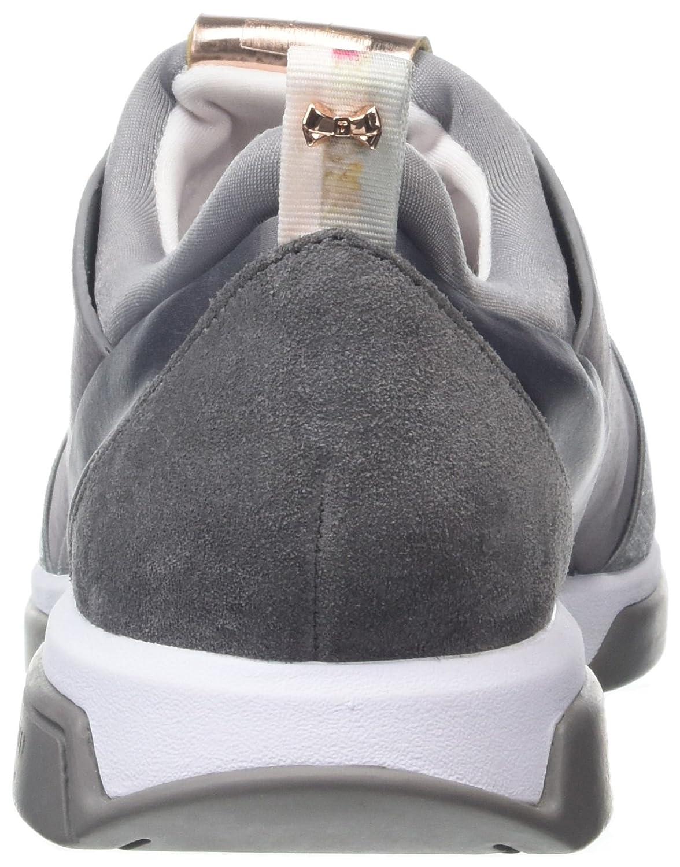 Ted Baker Damen Cepa Lthr Grau Af Dk Grau Sneaker, Grau Lthr (Dark Grau) 8173dd