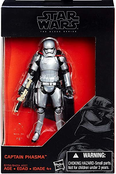 "STAR WARS THE FORCE AWAKENS CAPTIAN PHASMA  3.75/"" Figure"