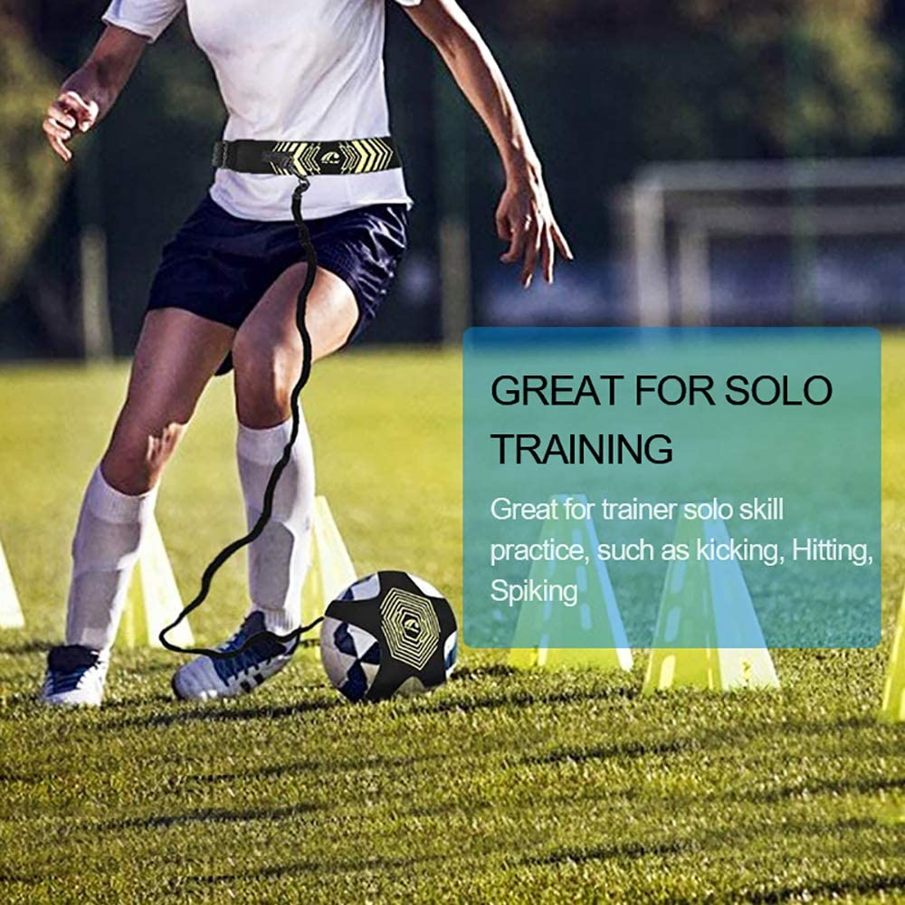 KIKIGOAL Volleyball Training Equipment Aid - Solo Practice for Serving and Arm Swings Trainer,Practice Overhand Serve, Spike, Arm Swings, Hitting (Hand Straps and Ball Rebounder) : Sports & Outdoors