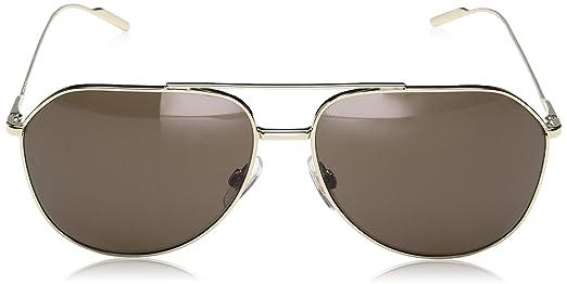 0dg2166 Amazon es Gafas Ropa accesorios Dolce 61 y Pale Gabbana Goldbrown de sol 48873 Gabbana para hombre 7Y7Oq