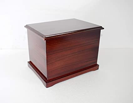 Amazon Com Hind Handicrafts Wood Human Funeral Cremation Urn For