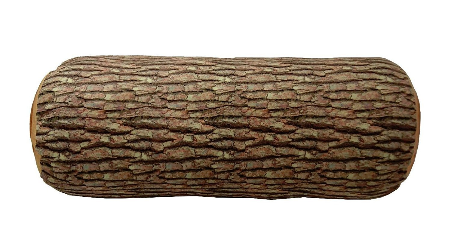 3D Wood Log Soft Cushion throw Pillow Stuffed Plush Home Decor KT00001 ~ We Pay Your Sales Tax -  - living-room-soft-furnishings, living-room, decorative-pillows - 71RtvGnnO5L -