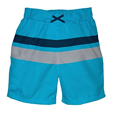 Striped Blue Shorts Mother Care Supply Boys 0-1 Months Excellent Condition
