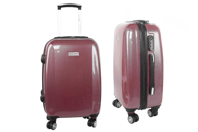 Maleta rígida PIERRE CARDIN rojo mini equipaje de mano ryanair S296: Amazon.es: Ropa y accesorios