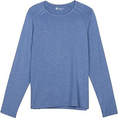 45e307c303e Amazon.com  Shedo Lane Mens Sun Protective Long Sleeve T Shirts UPF 50+ SPF  UV Protection Clothing  Clothing