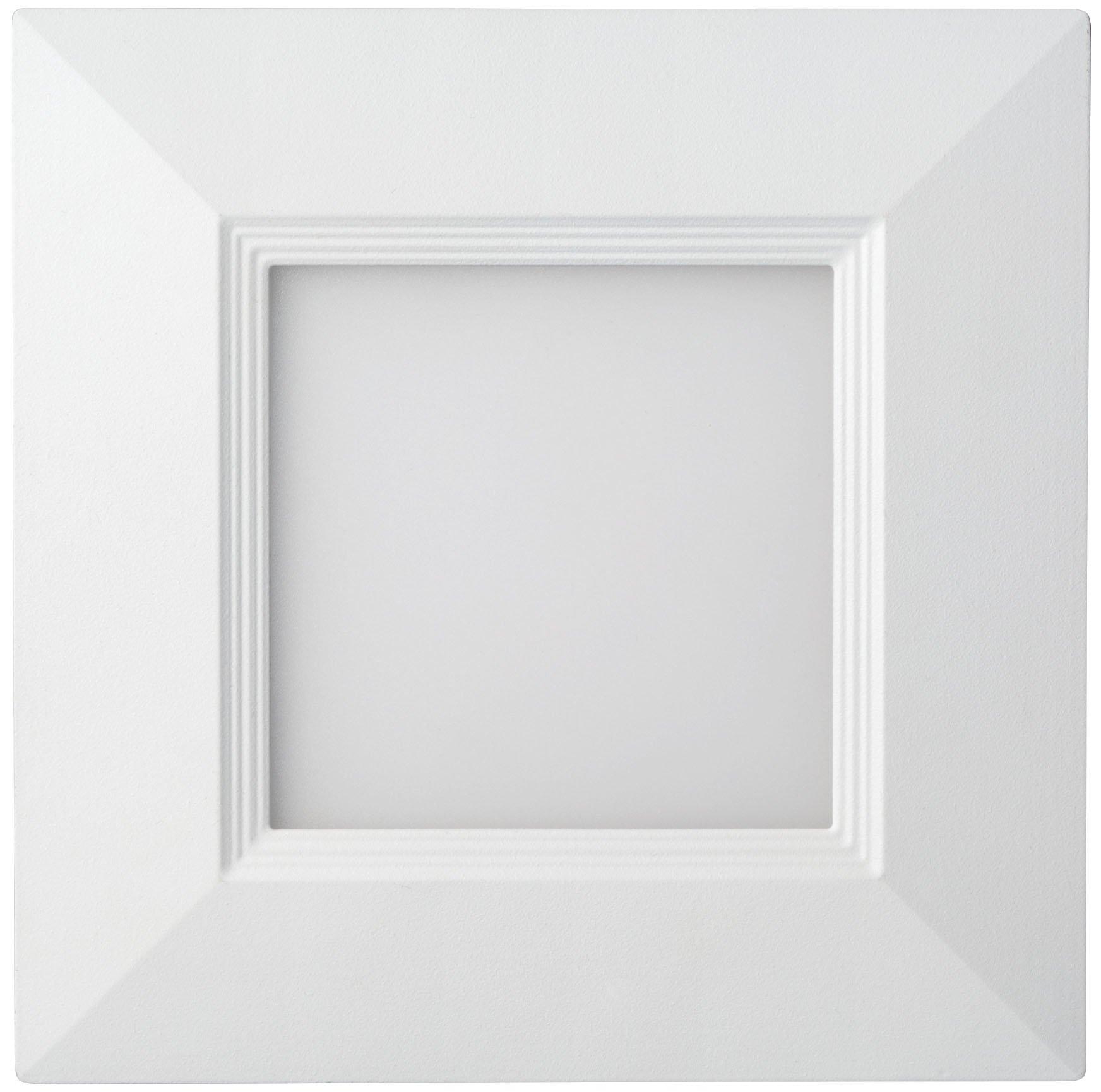 Lithonia Lighting WF4 SQ B LED 27K MW M6 Ultra-Thin Square LED Recessed Ceiling Light, 2700K | Warm White, Matte White by Lithonia Lighting (Image #4)