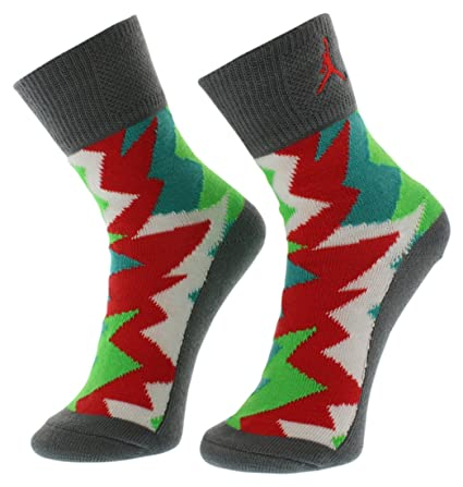 best service 89e5c 74a6c Image Unavailable. Image not available for. Color  Air Jordan Boy s Retro 7  2-Pack Crew Socks 10C-3Y 5-