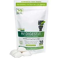 $23 » Unique RV Digest-It Holding Tank Treatment - Drop in Pods Toilet Treatment (20…