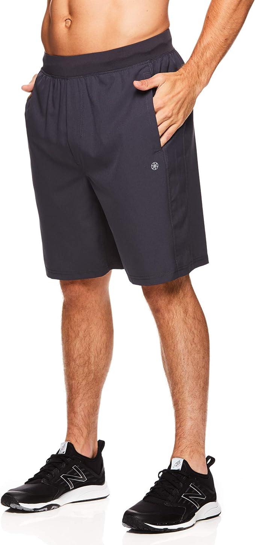 Amazon.com: Gaiam - Pantalones cortos de yoga para hombre ...